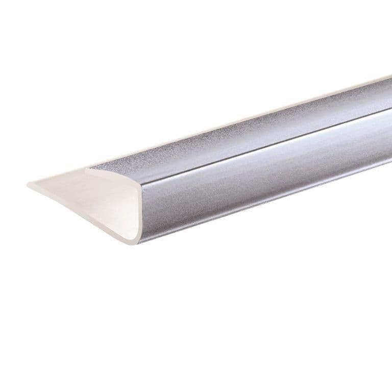 Giavani End Caps 10mm x 2.7m - Chrome